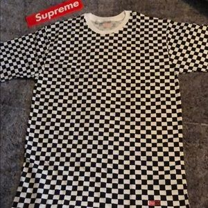 Supreme Shirts Hanes Checkered T